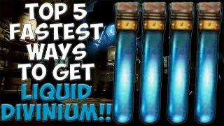Download TOP 5 FASTEST WAY TO GET LIQUID DIVINIUM! Call of Duty Black Ops 3 Zombies Video