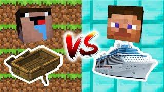 Download Minecraft - NOOB VS. PRO: BOAT Challenge Video