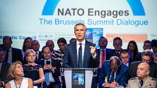 Download NATO Secretary General at NATO Engages, 11 JUL 2018, Part 1 of 2 Video