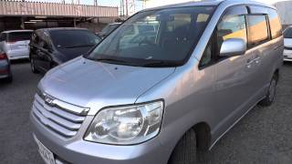 Download 2003 Toyota Noah - family vehicle for sale buy used car in Tokyo Japan. Video