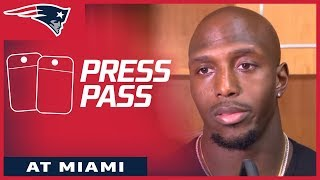 Download Patriots players react to Monday night loss in Miami Video