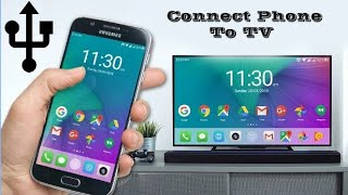 Download HOW TO CONNECT MOBILE PHONE TO TV || SHARE MOBILE PHONE SCREEN ON TV Video