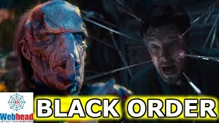 Download Doctor Strange Vs. Ebony Maw And The Black Order Revealed In New Infinity War Trailer! | Webhead Video