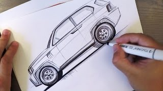 Download BiC SUV Sketch with Prius Wheels! Video