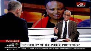 Download THE POLITICAL VIEW: Credibility of the Public Protector - Angelo Fick Video