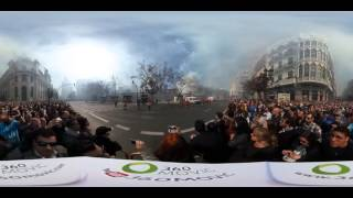 Download Mascletà Unesco en 360 grados - Fallas 29 de Febrero de 2016 | Pirotecnia Caballer | 360Movic Video