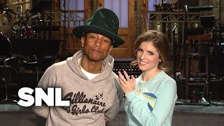 Download SNL Promo: Anna Kendrick and Pharrell Williams Video