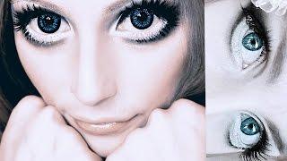 Download BIG ANIME DOLL EYES MAKEUP TUTORIAL - Makijaż na lalkę Video