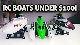 Download 3 RC Boats Under $100!! Video