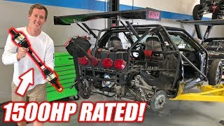 Download Leroy Gets Some MEATY 1500+hp Outlaw Axles! *Freedom Included* Video