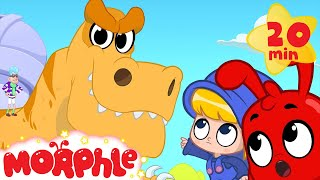 Download Dinosaur bandits steal a T-rex! Morphle the dinosaur superhero saves the day! Kids video Video