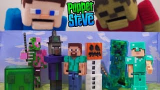 Minecraft Drowned Zombie Figures?! Aquatic Update Baby Mob