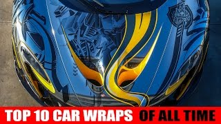 Download Top 10 car wraps of all time Video