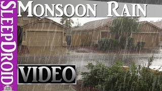 Download ►10 Hours of Rain in the Summer, Monsoon RAIN & THUNDER ~HD VIDEO (Nature's Relaxing Sleep Music) Video
