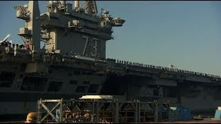 Download BIGGEST WARSHIP IN THE WORLD - USS GEORGE WASHINGTON - BBC NEWS Video