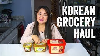 Download Korean Grocery Haul + Ingredients Guide : Chef Julie Yoon Video