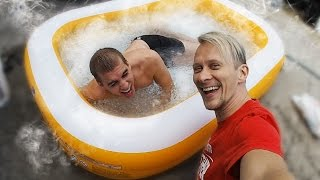 Download Dry Ice Bath (DANGEROUS) Video