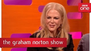 Download Nicole Kidman was a teen magazine cover star - The Graham Norton Show 2016 – BBC One Video
