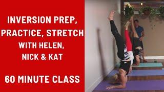 Download 60 Minute Yoga Class - Inversion Prep, Practice, & Stretch Video