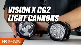 Download Vision X CG2 LED Light Cannons Review and Demo - These things are insane! Video