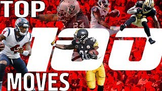 Download Top 100 Moves (Jukes, Stiff Arms, & Hurdles) of the 2017 Season! | NFL Highlights Video