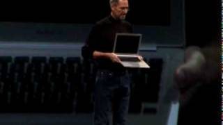 Download MacBook Air Introduction by Steve Jobs Video