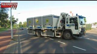 Download Prio1 6x Brandweer en Prorail naar ReMi B1 brand op Kijfhoek te Zwijndrecht Video