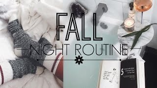 Download FALL NIGHT ROUTINE 2016 | TheSarahSalvini Video