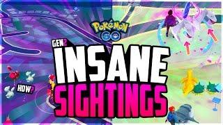 Download Pokemon Go - The Top 10 CRAZIEST POKEMON GO SIGHTINGS! (RAREST Pokemon in Pokemon Go!) Video