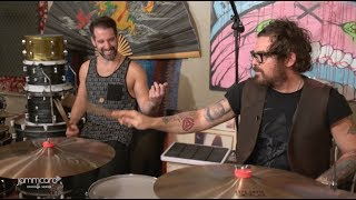 Download Drummers in a Drum Room | Michael Miley of Rival Sons with Elmo Lovano Video