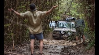 Download MILE OF MUD - Bogged so bad we had to camp on the track! Video