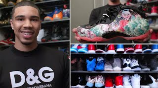 Download Jayson Tatum's Rare Sneaker Collection | Collected | GQ Video