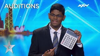 Download 15 Year Old YAASHWIN SARAWANAN Is A HUMAN CALCULATOR! | Asia's Got Talent 2019 on AXN Asia Video