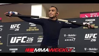 Download Tony Ferguson Unconventional UFC 216 Workout Video
