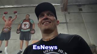 Download Boxing Champ Aleksander Usyk 200 Situps Like It's Nothing EsNews Boxing Video