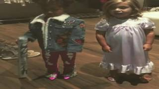 Download North West & Penelope Disick get fly before going to a LIT party with Mermaid cake and 97 Mermaids! Video
