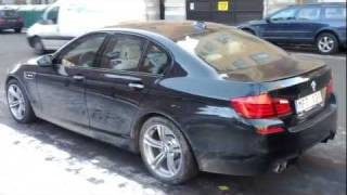 Download First BMW M5 spotted in Stockholm, Sweden (cellphone video) Video