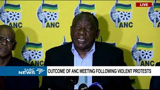 Download ANC to engage further on the Mahumapelo matter - Pres. Ramaphosa Video