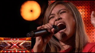 Download MARIA LAROCO FULL XFACTOR UK 2018 AUDITION | JUDGES STANDING OVATION | SUPER EMOTIONAL PURPLE RAIN Video