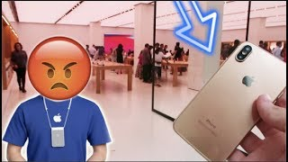 Download TAKING A FAKE iPhone X TO THE Apple Store! Video