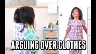 Download Already arguing over clothes - ItsJudysLife Vlogs Video