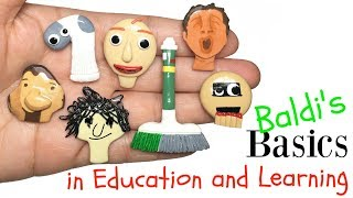 Download BALDI'S BASICS IN EDUCATION AND LEARNING! Stop Motion Polymer Clay Tutorial Video