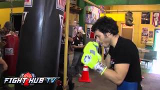 Download Julio Cesar Chavez Jr. vs Brian Vera 2- Chavez media workout highlights Video