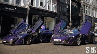 Download Purple McLarens - P1 Carbon Series and 675LT Spider Video