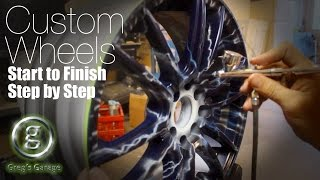 Download Step by Step Custom Wheels - DIY from Sealer to Clear Video