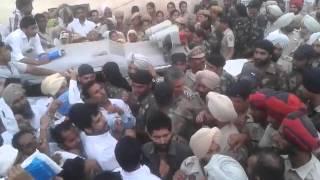 Download Amrinder Singh Raja Warring | During Sangat Darshan | Halka Gidderaha | Punjab Video
