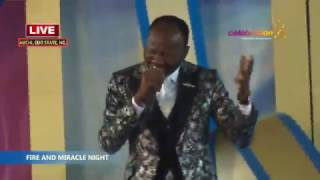 Download LIVE FIRE & MIRACLE NIGHT MARCH 2017 EDITION With Apostle Johnson Suleman Video