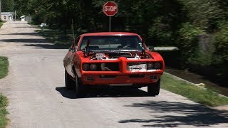 Download IT LIVES !!! 1969 GTO Clone FIRST DRIVE Video