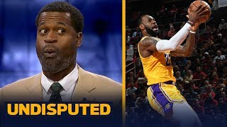 Download Stephen Jackson gives LeBron an 'A' in the Lakers' 126-111 loss to the Rockets | NBA | UNDISPUTED Video