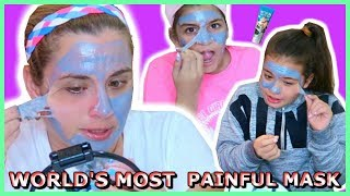 Download WORLD'S MOST PAINFUL MASK / HELL PORE CLEAN UP FACE MASK ″SISTER FOREVER″ Video